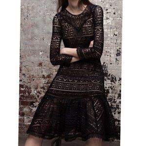 Rebecca Taylor REVOLVE stained glass black dress